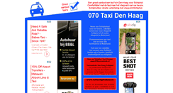 Preview of 070taxi.nl